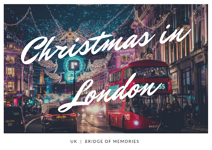 10 Christmas places in London