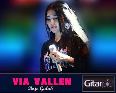 Chord Gitar Via Vallen - Bojo Galak