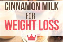 Cinnamon Milk For Weight Loss