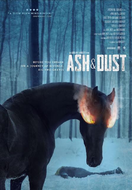 ASH & DUST: Póster y tráiler de la nueva película de Adrian Langley (Butchers)