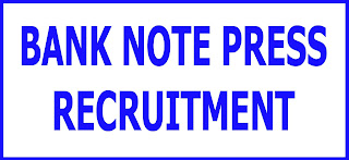 Bank Note Press Recruitment