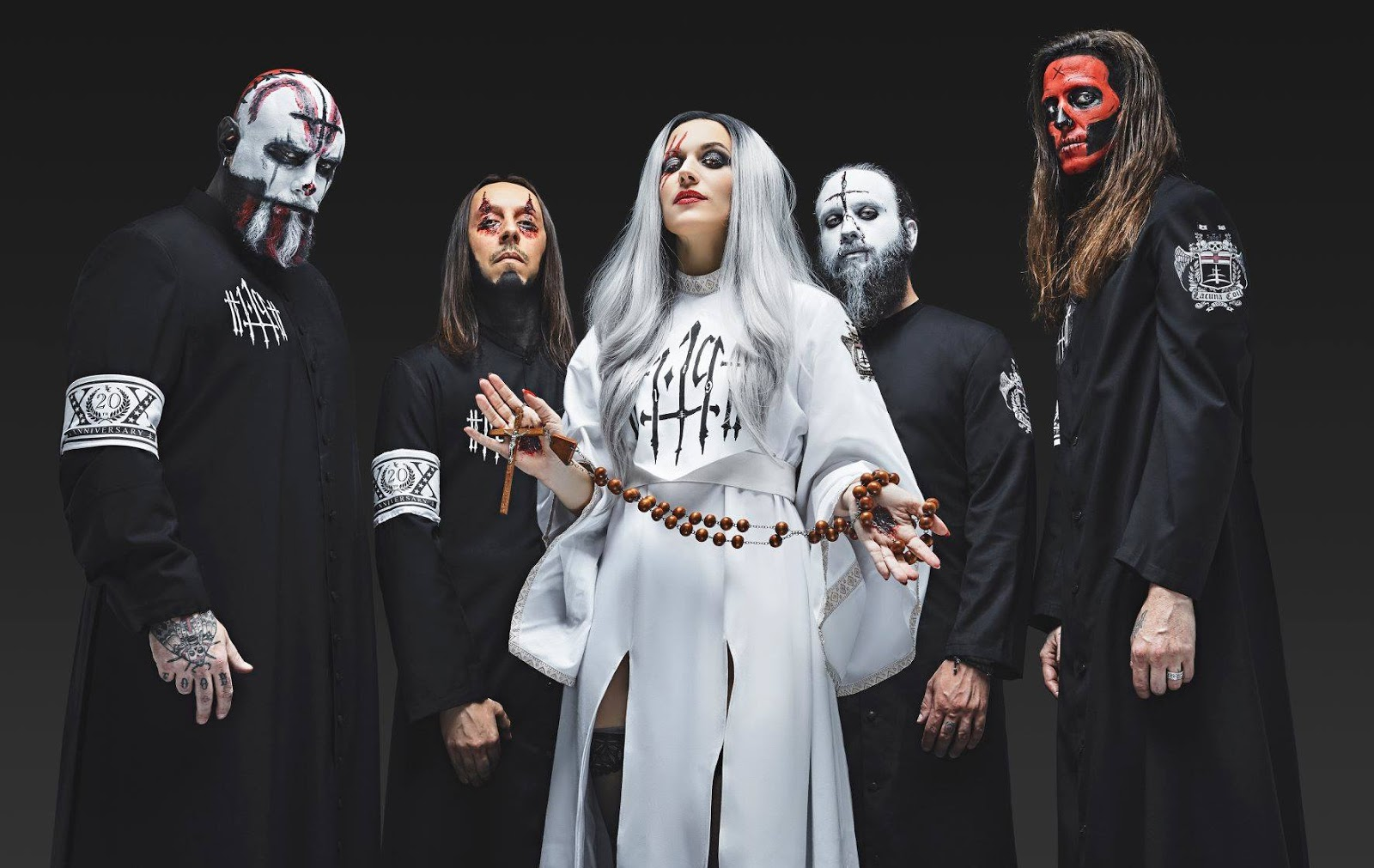 Lacuna Coil photo band
