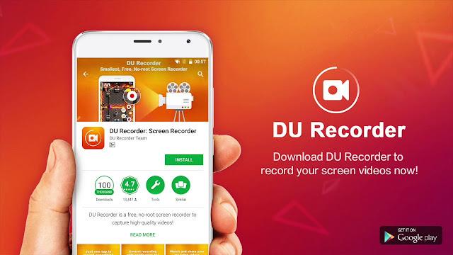Aplikasi Merekam Layar Terbaik, DU Screen Recorder Tips Menghilangkan Water Mark