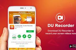 DU Screen Recorder, Aplikasi Merekam Layar Tanpa Water Mark
