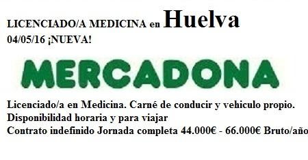 Lanzadera de Empleo Virtual Huelva. Oferta Mercadona