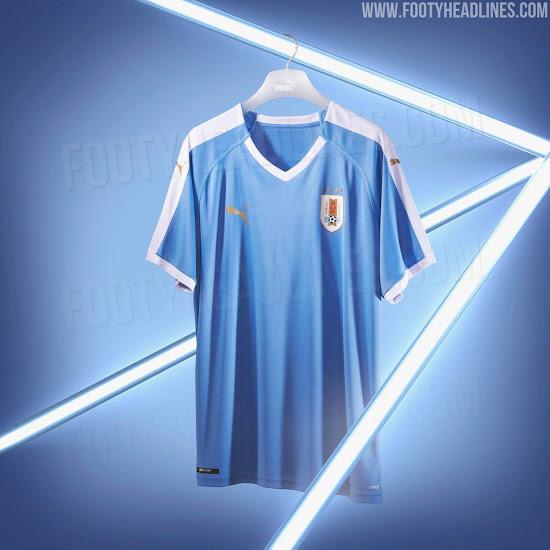 Uruguay 2019 Copa America Home & Away Kits Revealed - Footy Headlines