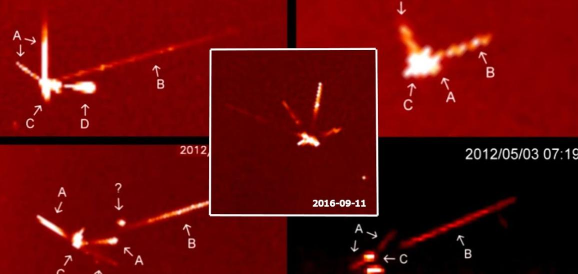 Avvistamento UFO vicino al Sole: foto ufficiali dal telescopio SOHO.