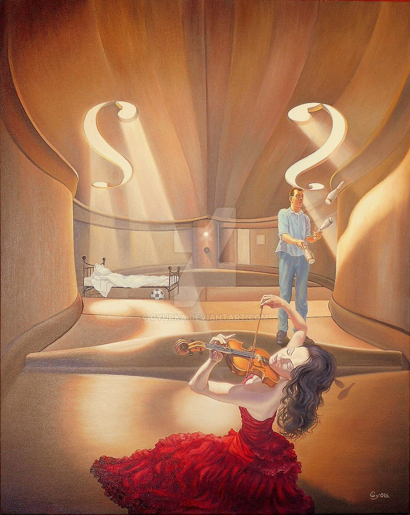 08-No-Empathic-Resonance-Gyuri-Lohmuller-Complex-Surreal-Paintings-that-make-you-Think-www-designstack-co