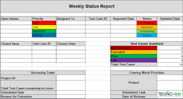 Test Report Template