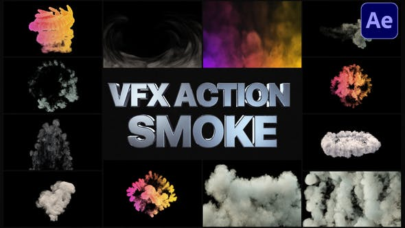 VFX Action Smoke[Videohive][After Effects][29026754]