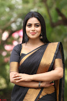 Poorna in Cute Backless Choli Saree Stunning Beauty at Avantika Movie platinum Disc Function ~  Exclusive 119.JPG