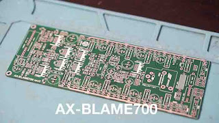 Power Amplifier AX-BLAME - Class AB