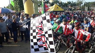 44 Tahun Indocement: Ratusan Bikers Tanam Pohon Dilokasi Wisata