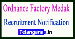 Ordnance Factory Medak Ofmedak Recruitment Notification 2017