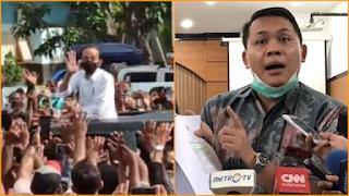 Komentari Kerumunan Jokowi, Pengacara HRS: Hukum Harus Berlaku untuk Semua Warga Negara