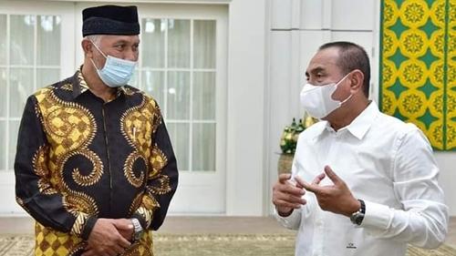 Silaturrahim dengan Gubernur Sumut, Wako H.Mahyeld: Kami Siap Jalin Kerjasama Perdagangan
