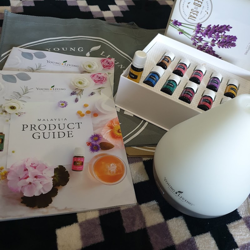 Unboxing Premium Starter Kit Essential Oil Young Living