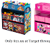 Minnie Mouse or Paw Patrol Kids Storage Bins $21.99 thru 8/3 (reg. $40!)