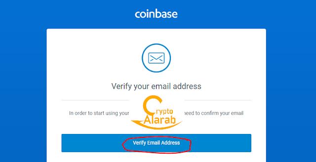 شرح طريقة التسجيل في محفظة كوين بيز coinbase