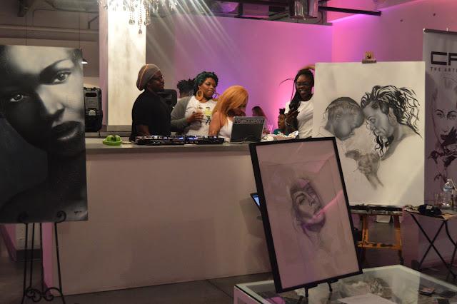 DJ Princess Cut at Naturally Pretty The Art of Curl