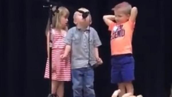 El niño que cantó la marcha imperial en vez de su canción en una fiesta infantil y que hasta a Mark Hamill le ha hecho flipar