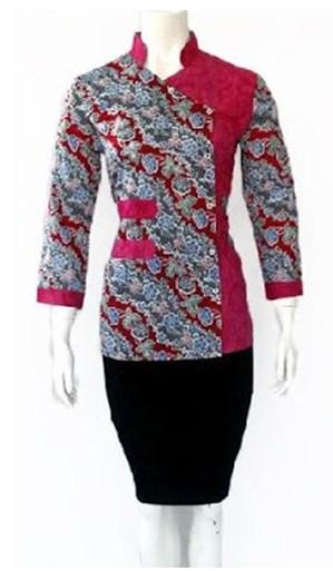 Batik Embos Terbaru Dengan Berbagai Fungsi Berbeda  Model Baju