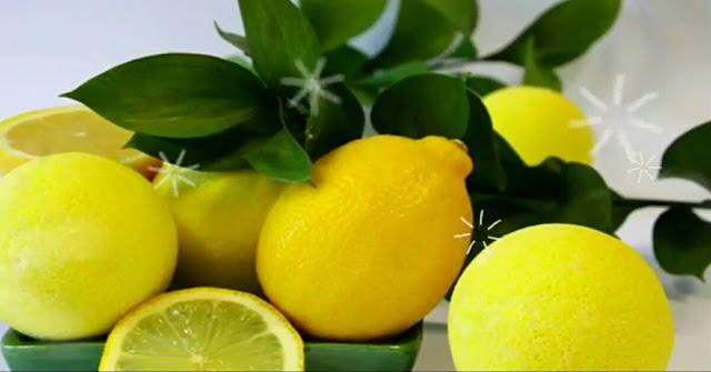 Menggunakan lemon dengan bentuk murni