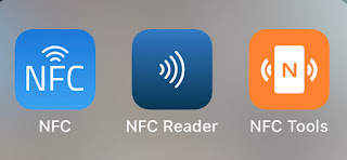 NFC-apps iphone geocaching