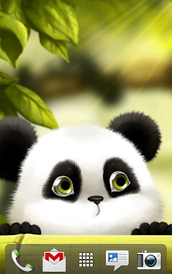 screenshot of Panda Chub live wallpaper