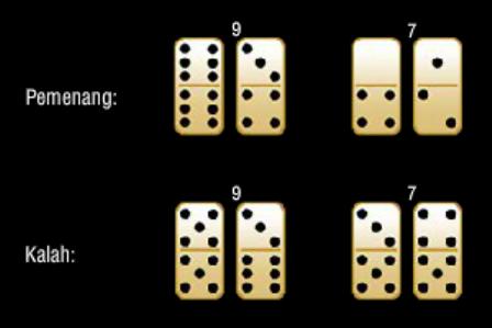 cara menentukan pemenang domino qq 99 jika DRAW