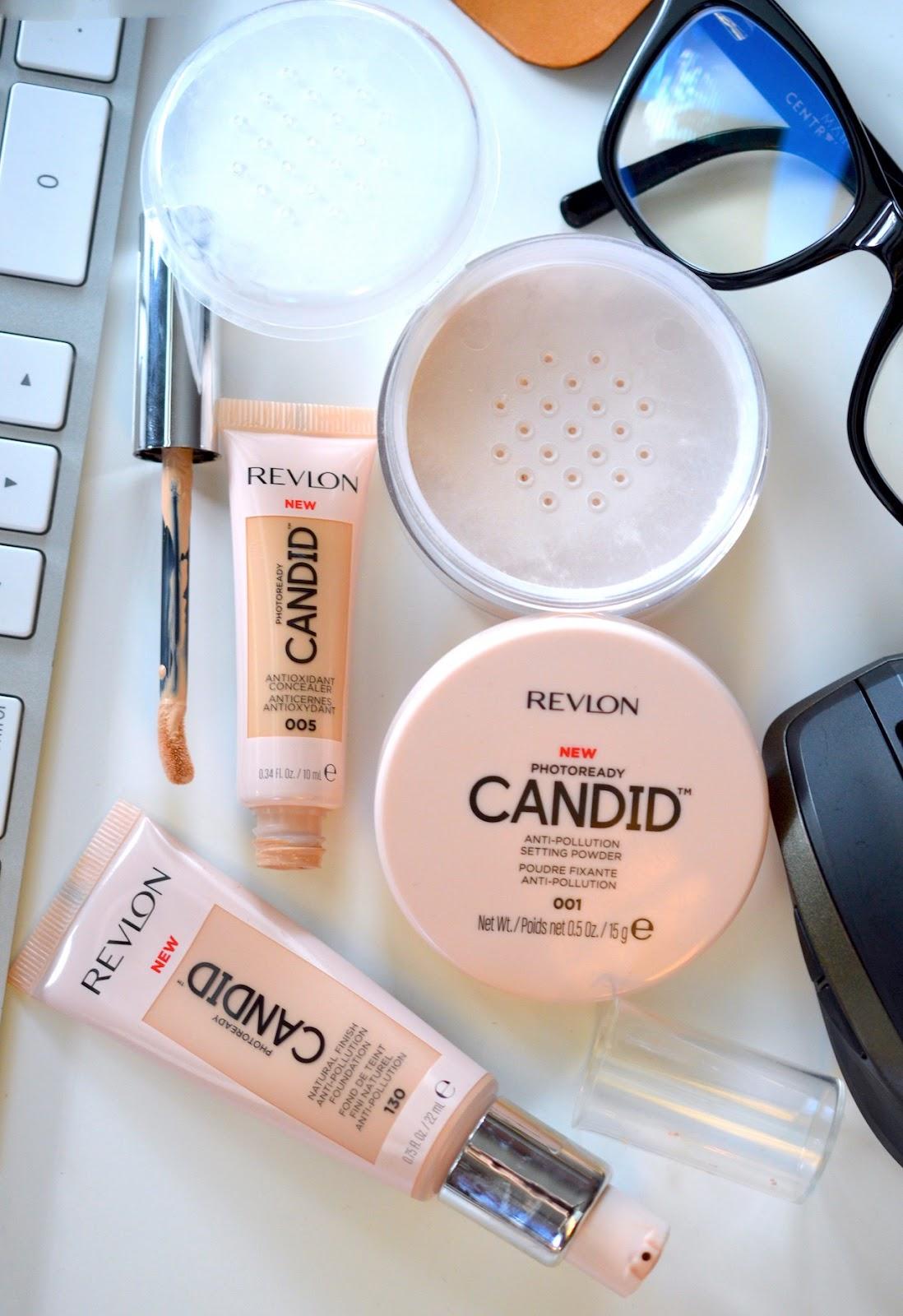revlon candid powder review
