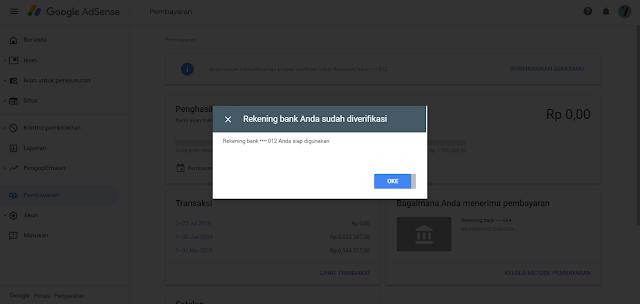 Cara Menambahkan Rekening BCA ke Pembayaran Google Adsense