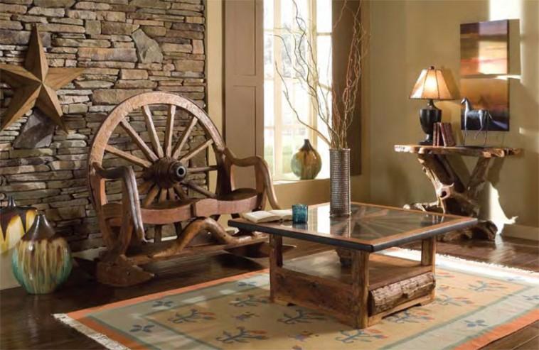 Western living room furniture