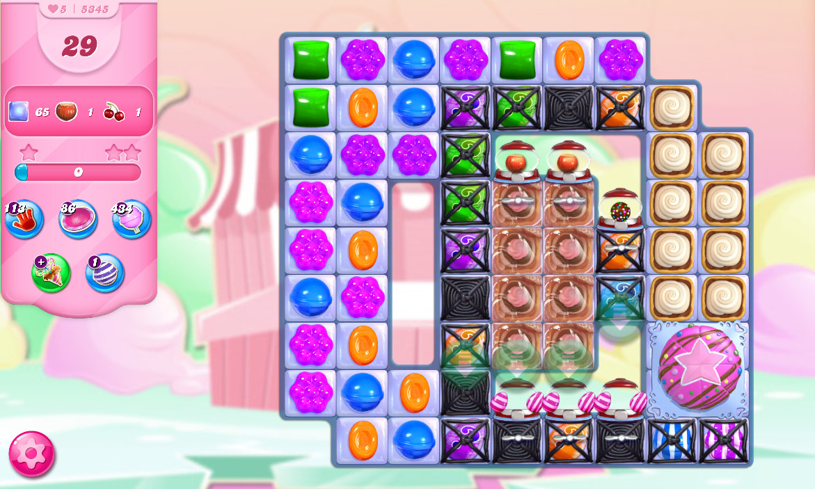 Candy Crush Saga level 5345