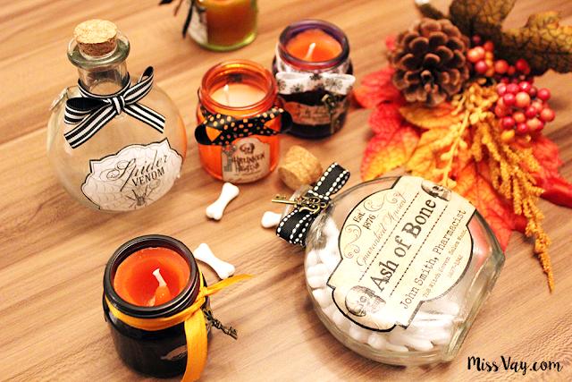 flacon bouteille potion magique apothicaire halloween magicien sorcière