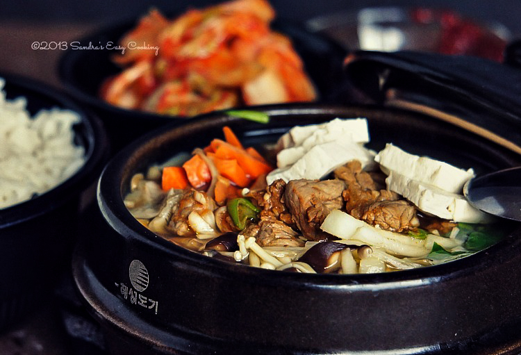 Delicious Korean Beef Stew 불고기전골