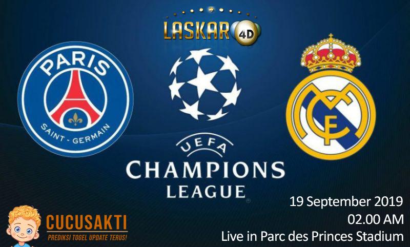 Prediksi Paris Saint Germant vs Real Madrid Champions League 2019