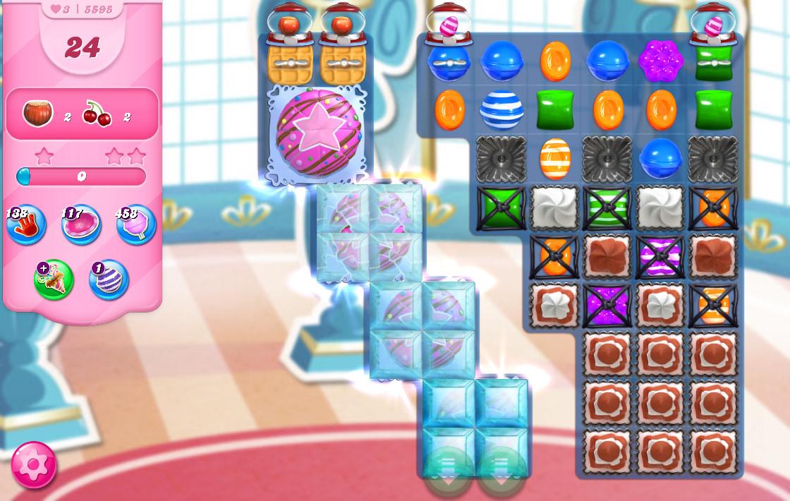 Candy Crush Saga level 5595