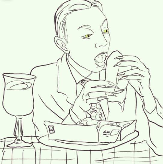 Reviewbrah Eating a McRin
