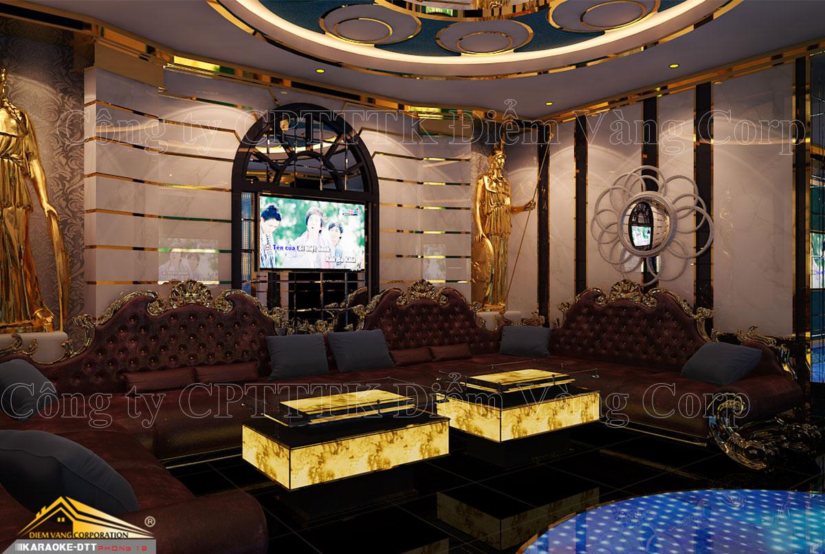 Thiết kế phòng karaoke 3D Ảnh Full chất lượng cao 3