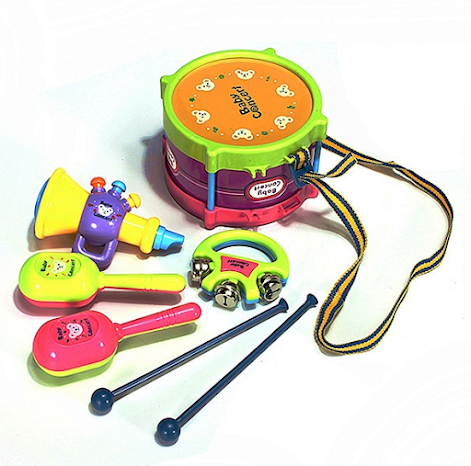 Musical instruments as a gift for a son for 1 year