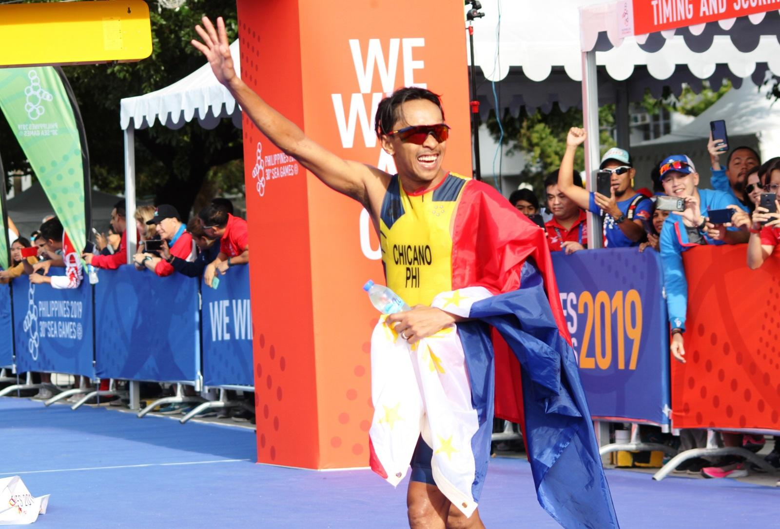 PH bags first gold medal in men's triathlon, silver also from Philippines