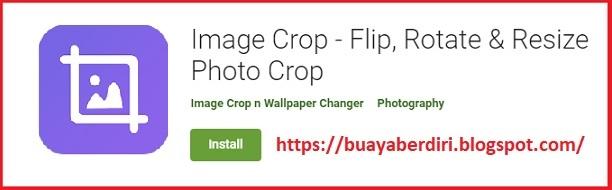 Image Crop - Cara crop pas foto dengan rapi dan bagus