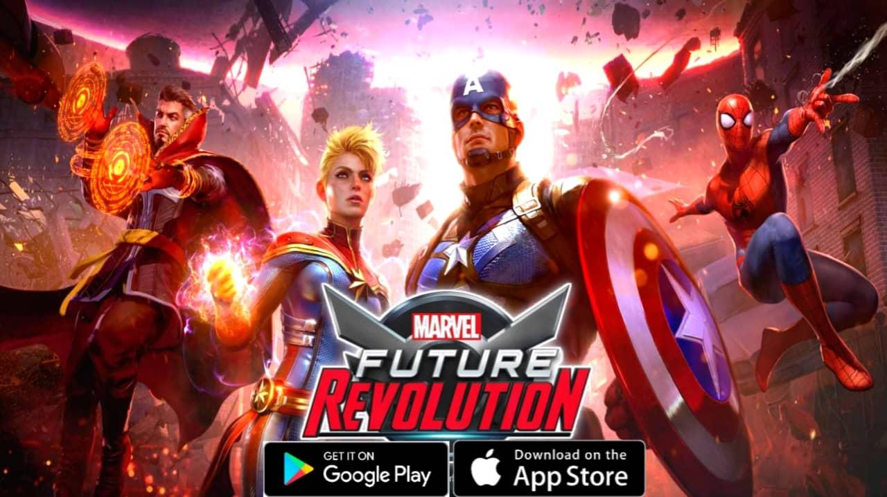 مراجعة شاملة للعبة Marvel Future Revolution للموبايل