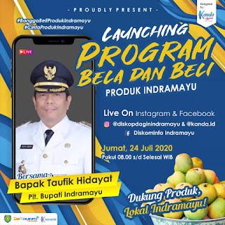 Pemkab Indramayu Akan Melakukan launching Program Bela dan Beli Produk UMKM