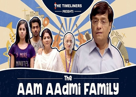 Download The Aam Aadmi Family (2016) Season 01 Hindi 720p + 1080p WEB-DL x264