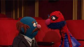 Spider Monster the Musical, Mr. Johnson, grover, spider grover, Sesame Street Episode 4321 Lifting Snuffy season 43