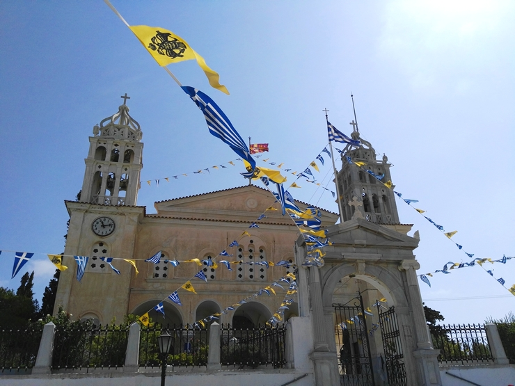 église sainte trinité lefkes paros