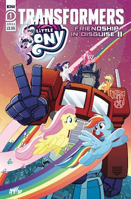 IDW Comics My Little Pony / Transformers II