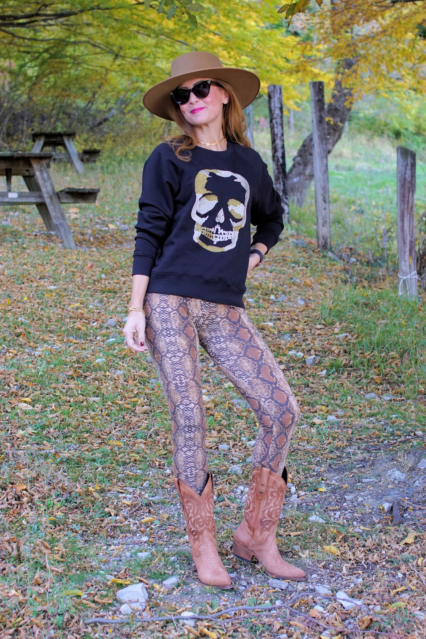 Western Fall look with Mayura boots on Fashion and Cookiese